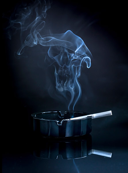 What toll does tobacco take locally?